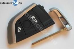 BMW 3 obal s tlačidlom čierna gomb