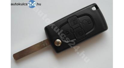 Citroen 4 obaľ vystreľovacieho kľúča s tlačidlom VA2