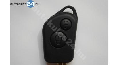 Citroen kľúč s tlačidlom