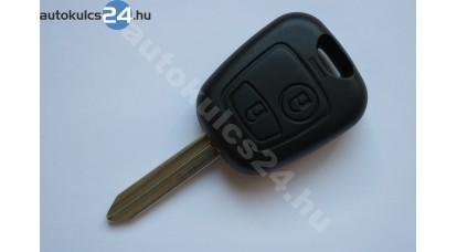Citroen 2 kľúč s tlačidlom SX9 433Mhz ID46