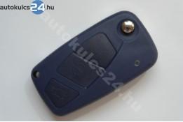 Citroen 3 obaľ vystreľovacieho kľúča s tlačidlom modrý bočná batéria
