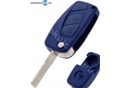 Fiat 2 obaľ vystreľovacieho kľúča s tlačidlom modrý