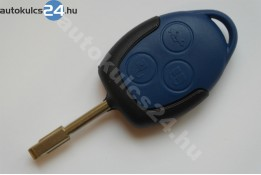 Ford 3 obal s tlačidlom modrý FO21