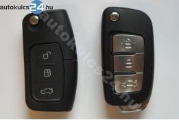 Ford 3 obaľ vystreľovacieho kľúča s tlačidlom FO21