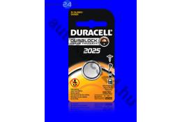Duracell CR2025 lithium batérie