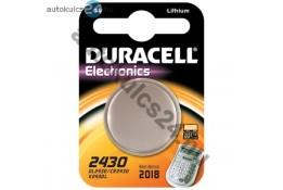 Duracell CR2430 lithium batérie