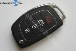 Hyundai 3+1 obaľ vystreľovacieho kľúča s tlačidlom