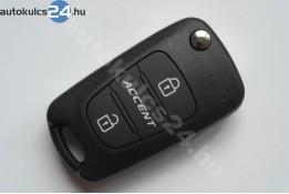 Hyundai Accent vystreľovacie kľúče