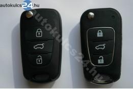 Hyundai 3 obaľ vystreľovacieho kľúča s tlačidlom kovkeret