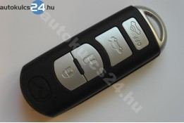 Mazda 4 zásuvný kľúč s tlačidlom