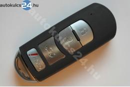 Mazda 3+1 zásuvný kľúč s tlačidlom