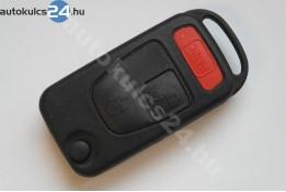 Mercedes 2 obaľ vystreľovacieho kľúča s tlačidlom panic tlačidlá delená