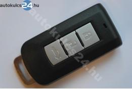 Mitsubishi 3 zásuvný kľúč s tlačidlom