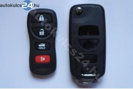 Nissan 4 prestavba na vystreľovacie kľúče s tlačidlom