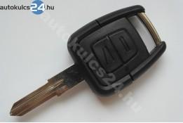Opel 2 kľúč s tlačidlom(ľavostranný)