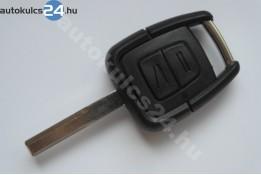 Opel 2 kľúč s tlačidlom HU43