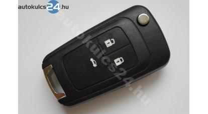 Chevrolet 3 obaľ vystreľovacieho kľúča s tlačidlom
