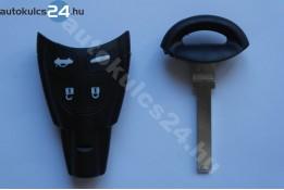 Saab 4 obal s tlačidlom úzky + záložné kľúče