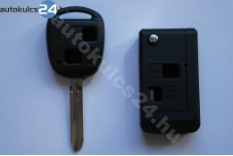 Toyota 2 prestavba na vystreľovacie kľúče s tlačidlom #3