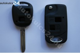 Toyota 2 prestavba na vystreľovacie kľúče s tlačidlom #6