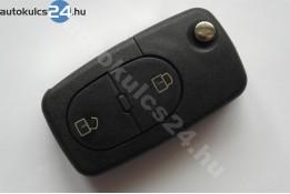 Audi 2 obaľ vystreľovacieho kľúča s tlačidlom oválny