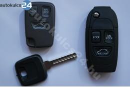 Volvo 3 prestavba na vystreľovacie kľúče s tlačidlom
